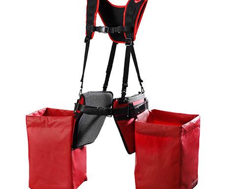 Подвійний наплічний ремінь з лямками у комлекті з підкладками та м'якими сумками (Pottiputki)